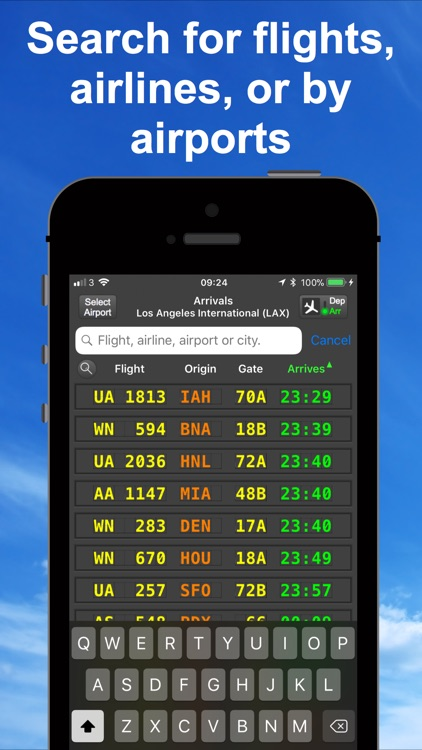 mi Flight Board Lite & Tracker screenshot-1