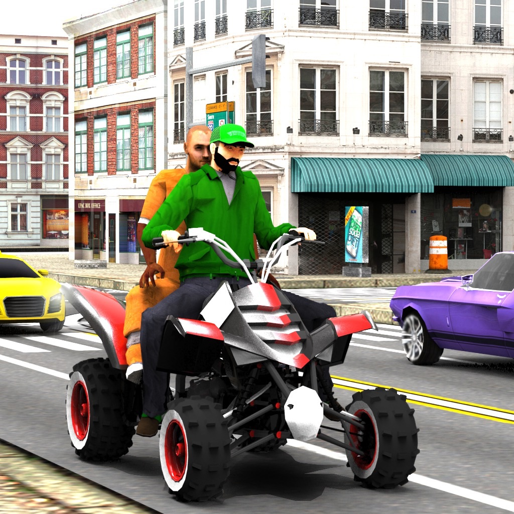 ATV Quad Bike Taxi: City Rider hack