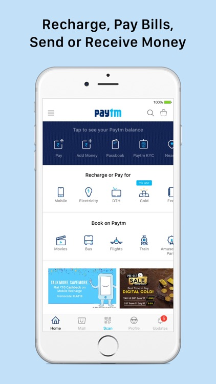 Paytm - Payments, Wallet & Recharges