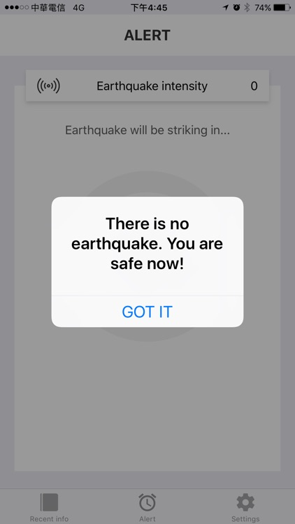 H.E.R.O. - Earthquake Alert
