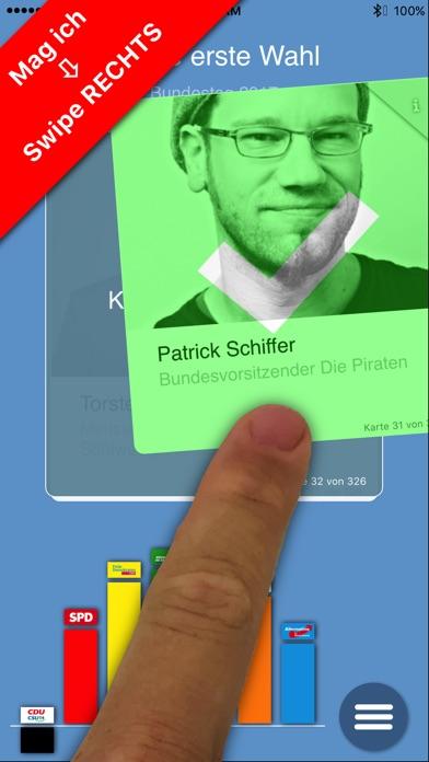 Meine Erste Wahl zum BundestagScreenshot von 1