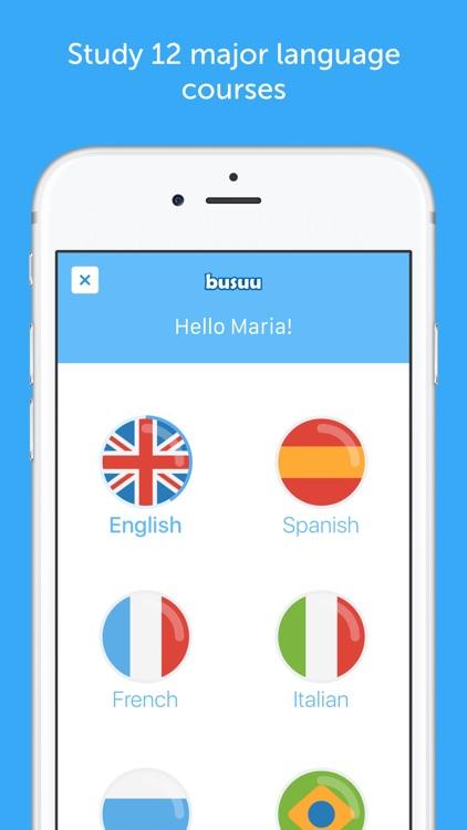 busuu - Learn English, Spanish & Other Languages screenshot-0
