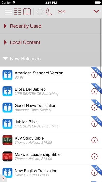 Lucado Life Lessons Study Bible screenshot-4
