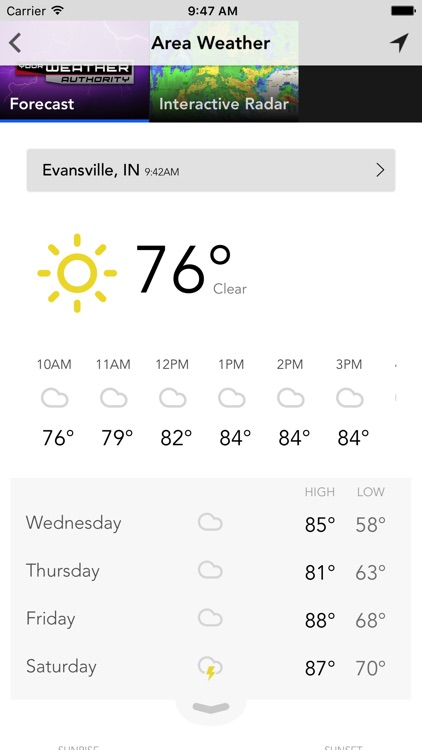 Tristate Weather - WEHT WTVW screenshot-1