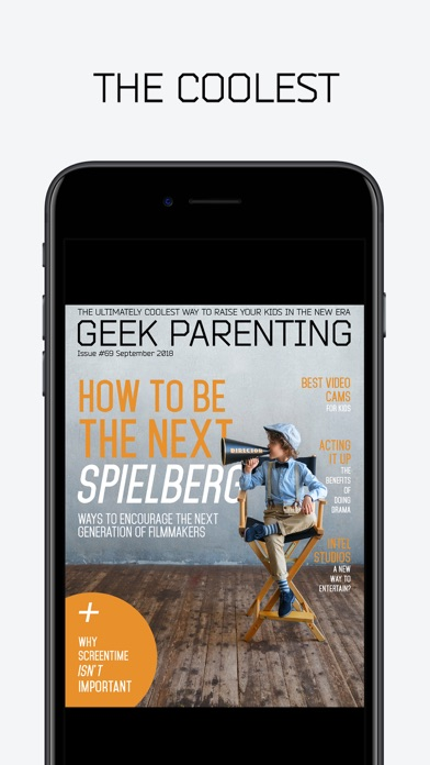 Screenshot #7 for Geek Parenting Magazine-Wired Kids For The Future