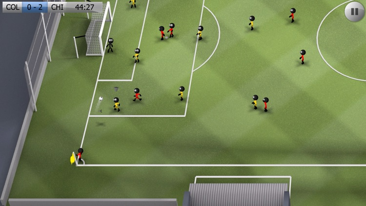 Stickman Soccer screenshot-1