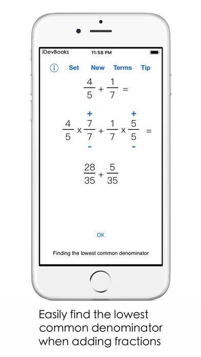 Fraction Math Screenshots
