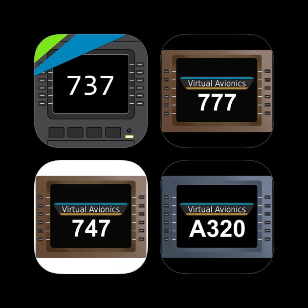 Virtual CDU 737 + 747 + 777 + A320 Collection