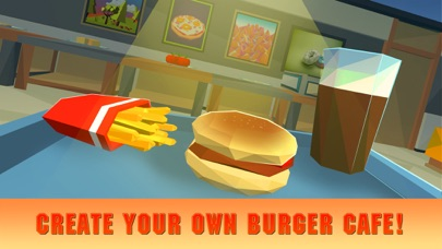 Burger Simulator: Cooking Master 3D screenshot one