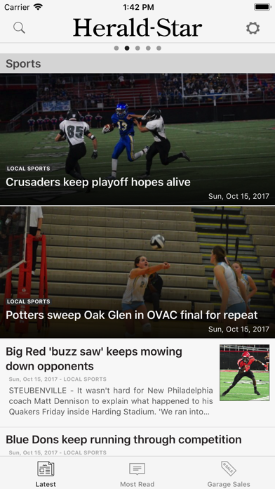Herald Star screenshot two