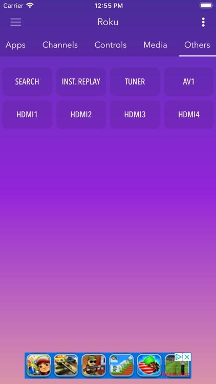 Smart Remote Roku screenshot-3