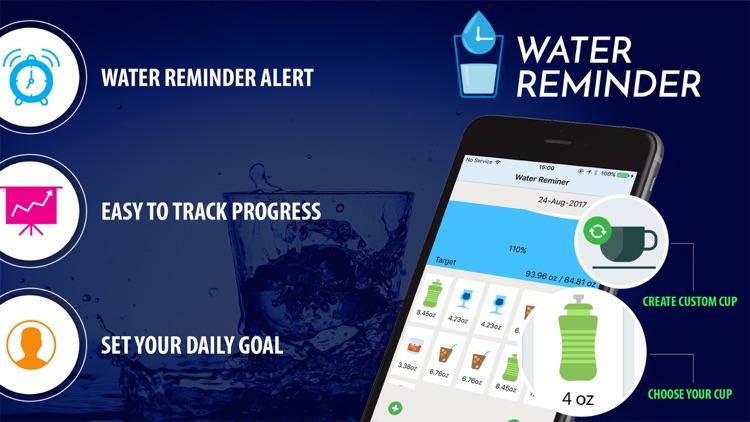 Daily Water intake: balance hydrate level screenshot-3