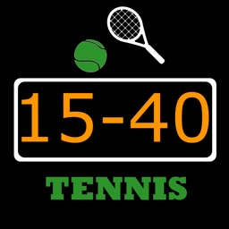 Save-score. Keep tennis scores