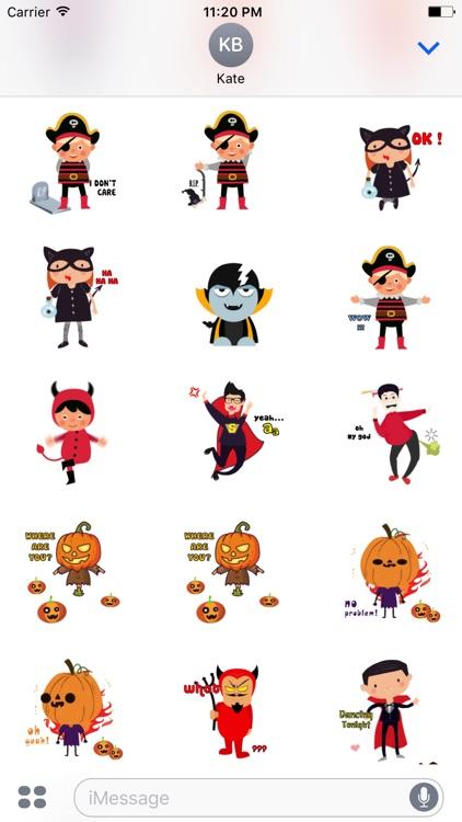 Halloween Character animated 4