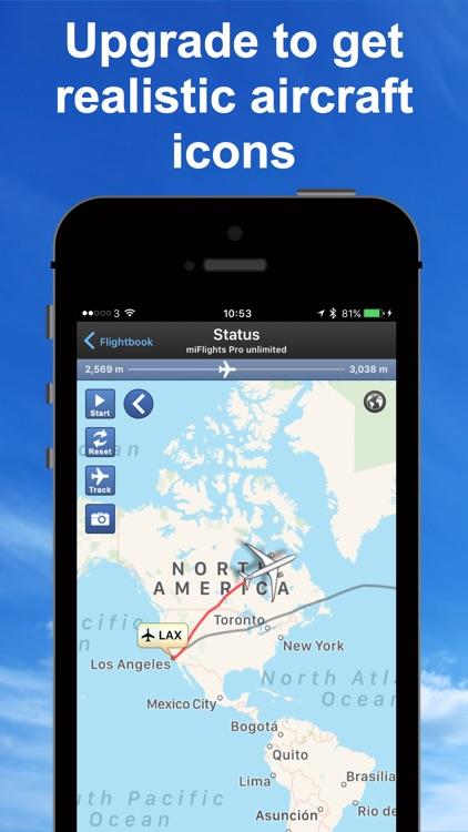 mi Flight Tracker Pro screenshot-4