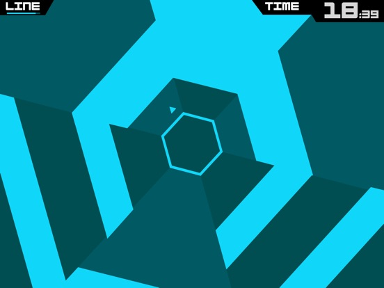 Super Hexagon Screenshots