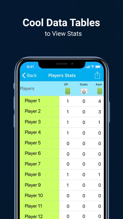 Soccer Stats Recorder 3000 screenshot-4