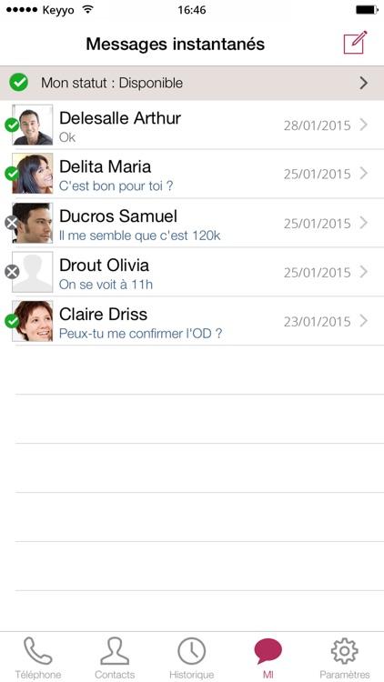 Keyyo Phone screenshot-3