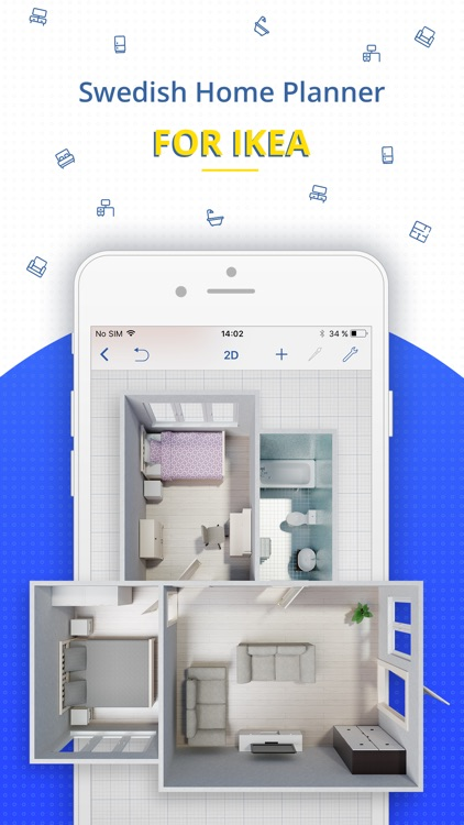 Swedish home planner for ikea by planner5d uab for Ikea design app
