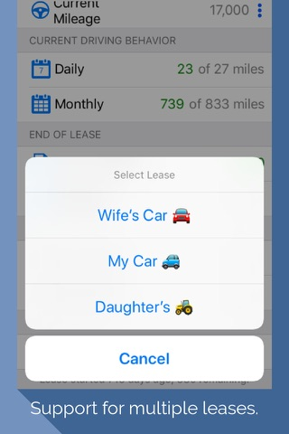 Lease Miles Overage Calculator screenshot 2