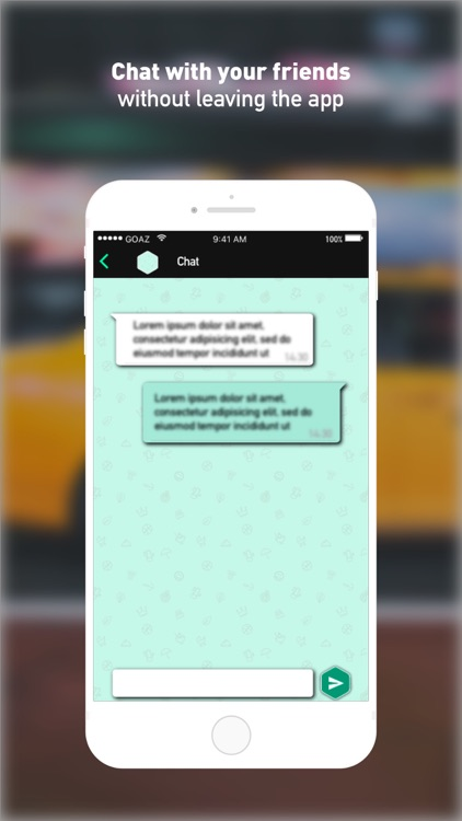 GOAZ: Make social your trips screenshot-4