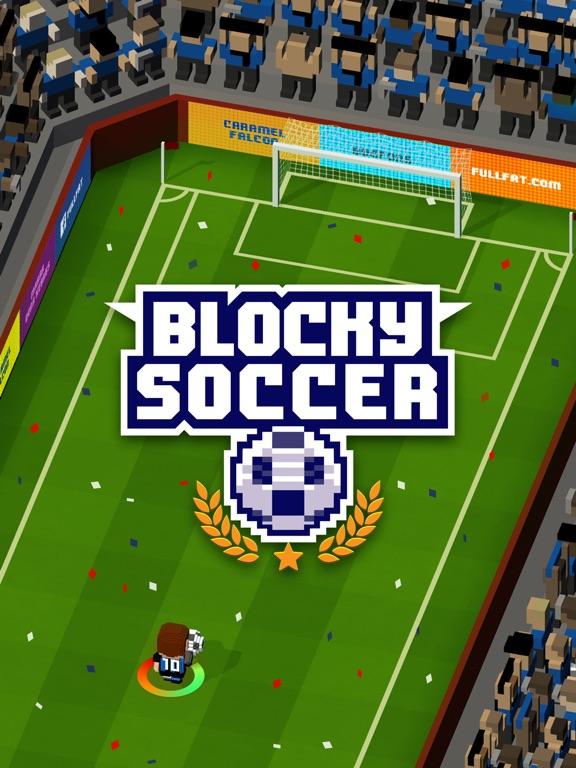 Blocky Soccer на iPad