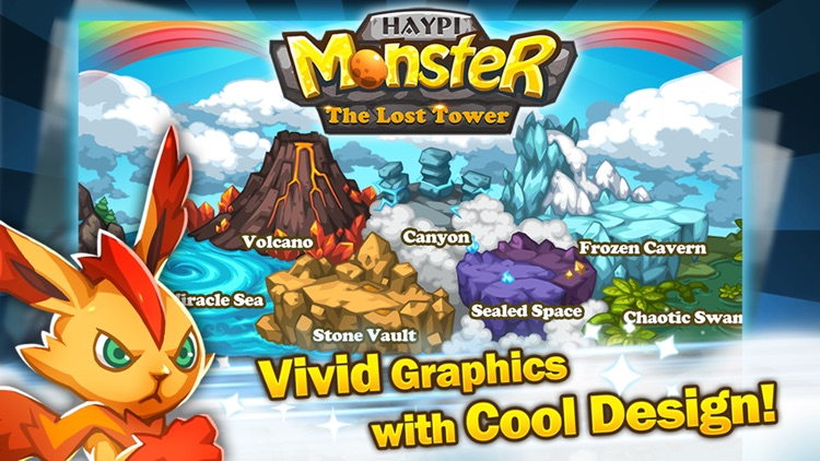 Haypi Monster:The Lost Tower screenshot-3