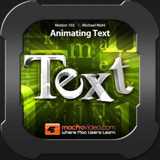 Animating Text 103 For Motion5