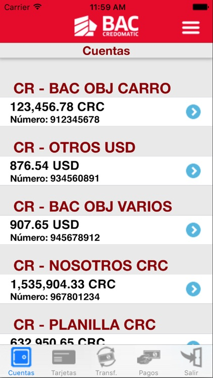Banca Móvil BAC Credomatic