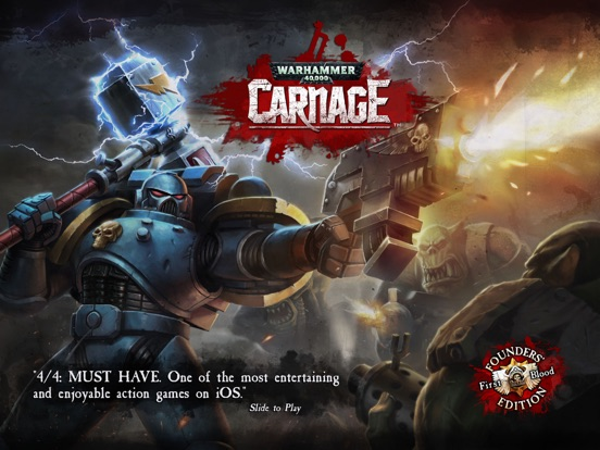 Screenshot #1 for Warhammer 40,000: Carnage