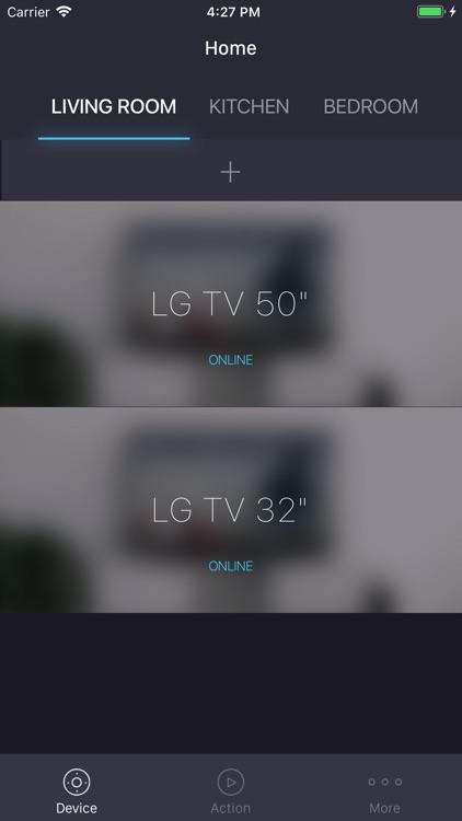 EControl: Remote for smart TVs