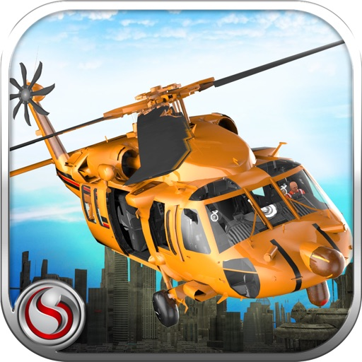 Helicopter Pilot Rescue Flight iOS App
