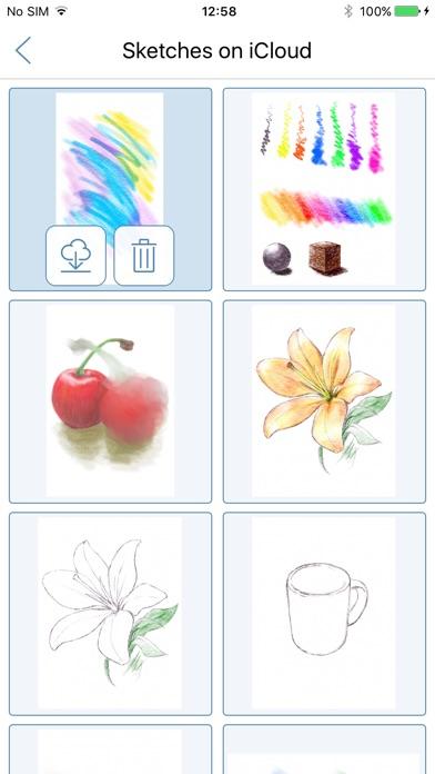 Screenshot for Colored Pencil in Belgium App Store