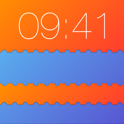 Ícone do app Slick - Lock Screen by Customizing your Wallpapers