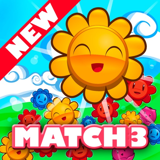 Blossom Garden Match 3: Connect and Bloom Flowers