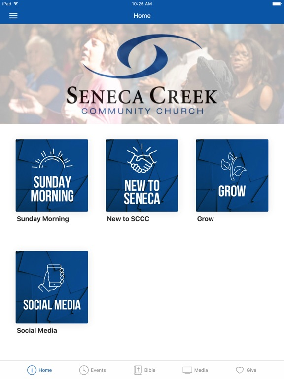 Seneca Creek Community Church screenshot 4