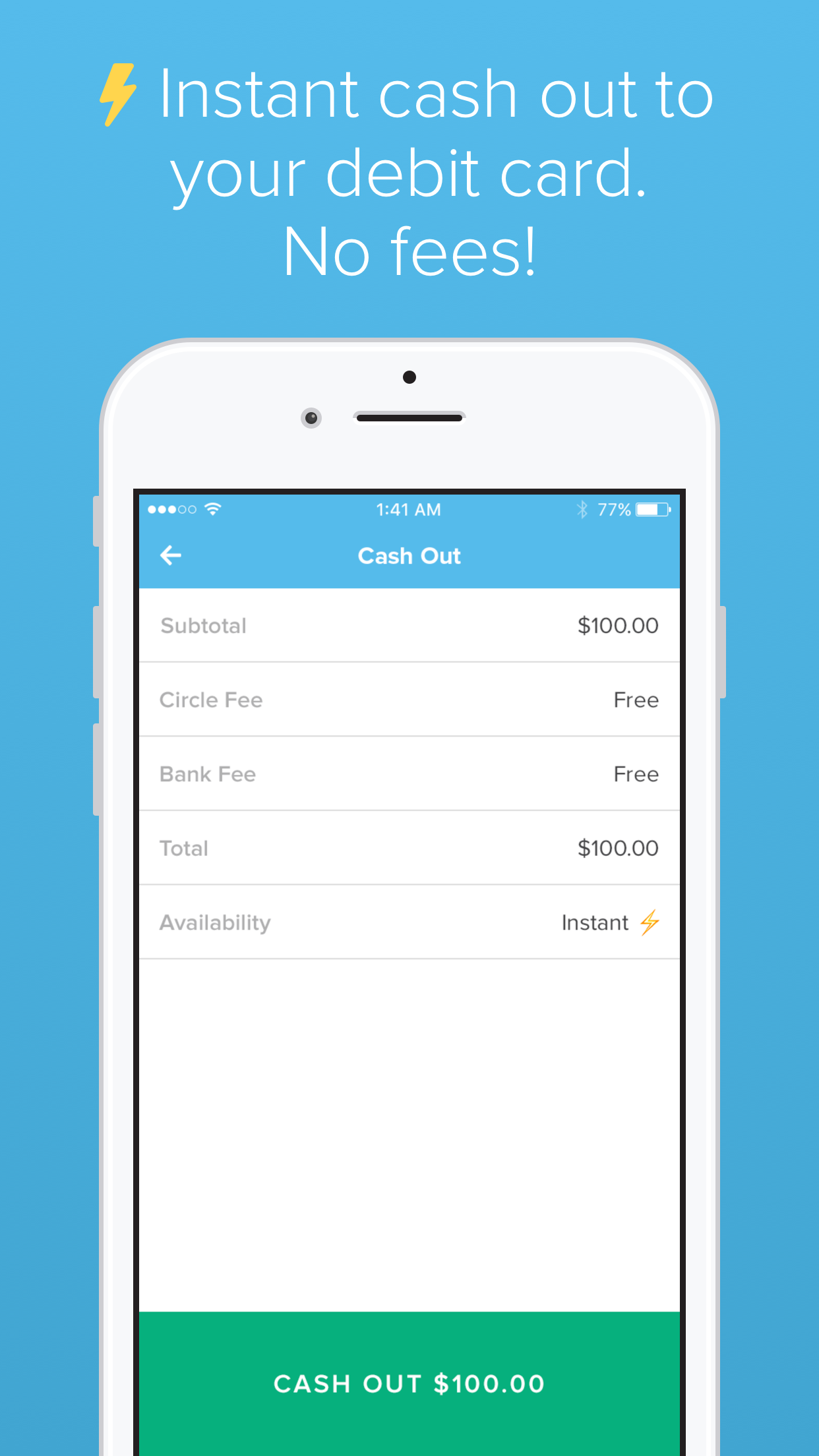Circle Pay Screenshot
