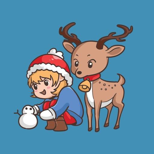 Warm & Sweet Christmas Sticker