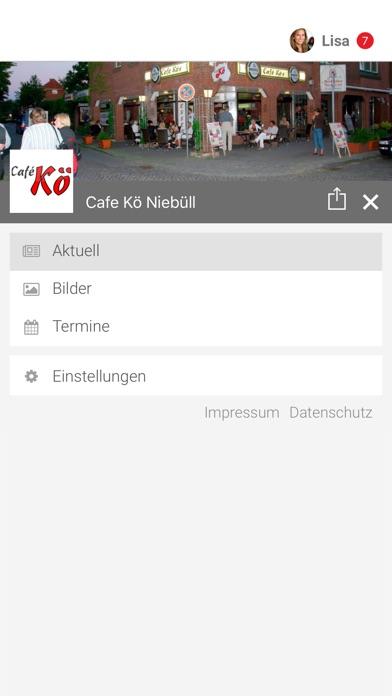 Cafe Kö NiebüllScreenshot von 2