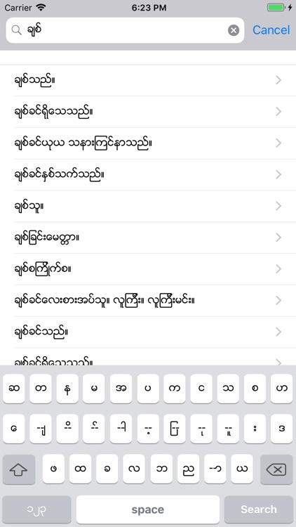 mm-ch Dict screenshot-3
