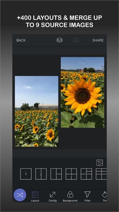 LayoutPic - Photo grid screenshot 1