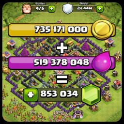 "Gems Calc for ""Clash of Clans"""