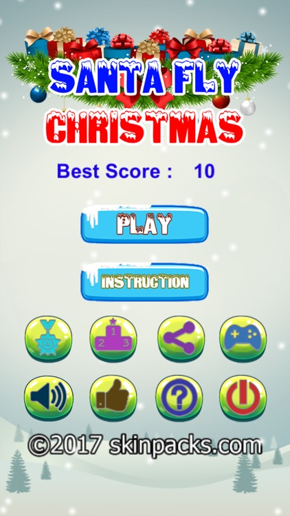 Santa Fly Christmas screenshot-2