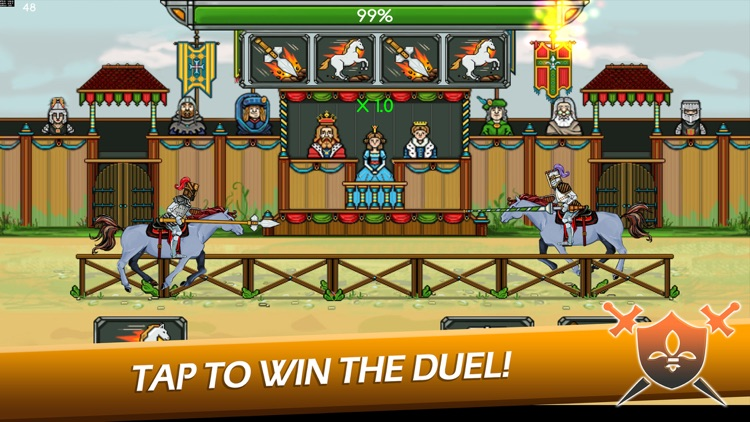 Knight Joust Idle Tycoon screenshot-0