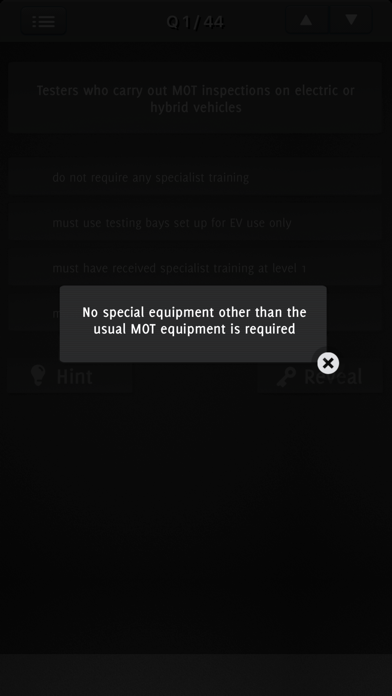 MOT ANNUAL ASSESSMENT EXAM screenshot 3