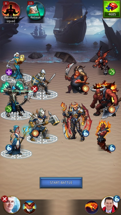 Gods and Glory: Throne wars screenshot-4