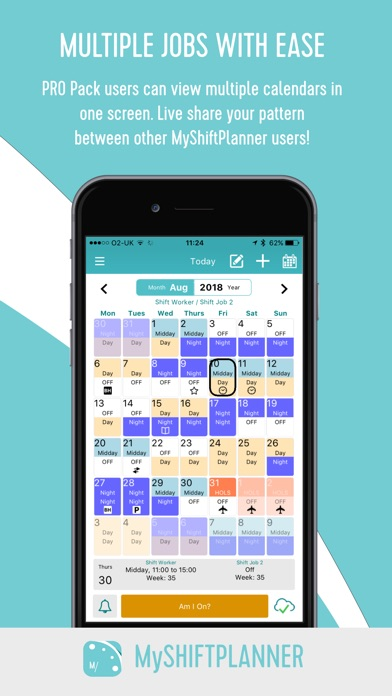 Download My Shift Planner – Calendar for Pc