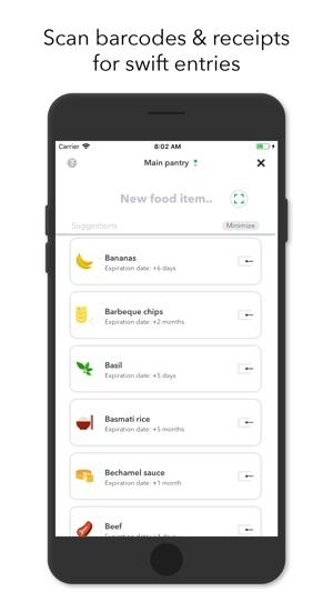 NoWaste - Food Inventory List on the App Store