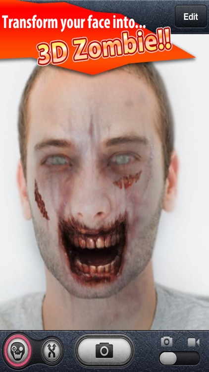 ZombieBooth: 3D Zombifier screenshot-0