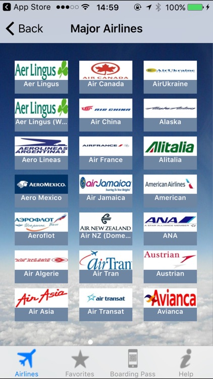 Airline Flight Check-In Europe